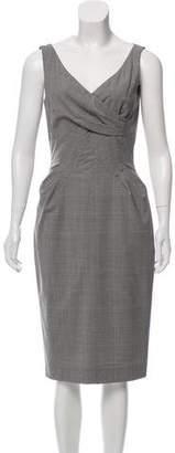 Michael Kors Wool Midi Dress