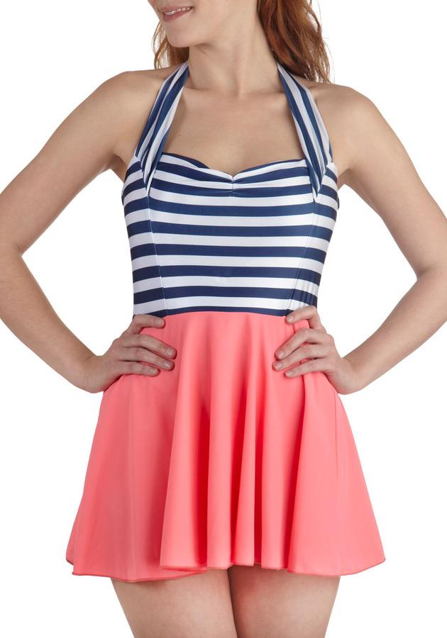 Playa Dress Up Two Piece Swim Dress