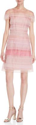 Carolina Herrera Pieced Organza A-Line Dress