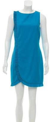 Azzaro Sleeveless Mini Dress