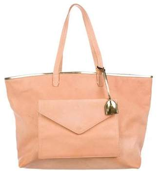 Clare Vivier Leather Pocket Tote