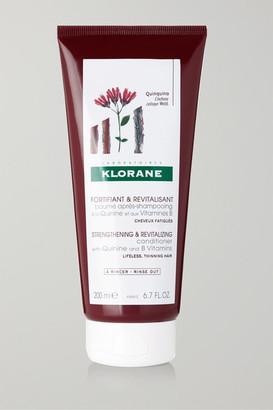 Klorane Strengthening & Revitalizing Conditioner, 200ml - Colorless