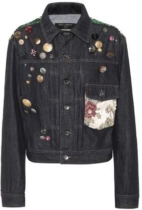 Dolce & Gabbana Embellished denim jacket