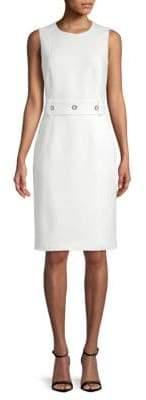 BOSS Duleama Sleeveless Sheath Dress