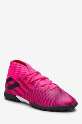 adidas Boys Hardwired Pink Nemeziz Turf Junior & Youth Football Boots - Pink