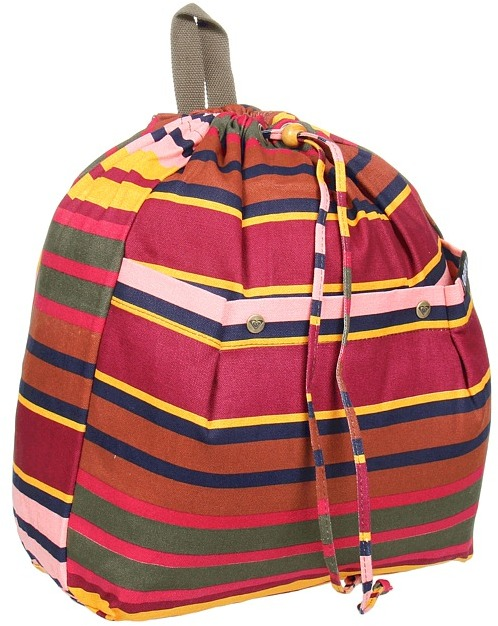 Roxy Pack Rat Canvas Backpack (Coastal Clove) - Bags and Luggage