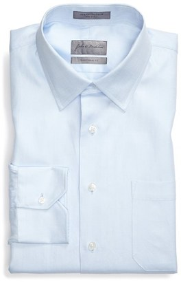 John W. Nordstrom ® Traditional Fit Herringbone Dress Shirt $89.50 thestylecure.com