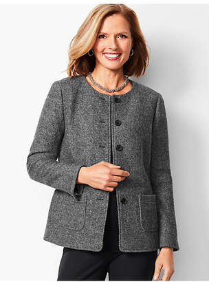 Talbots Boiled Wool Jacket - Shimmer
