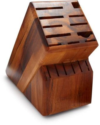 Wusthof Acacia 17-Slot Knife Block