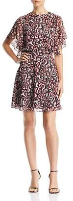 Rebecca Minkoff Tasha Printed A-Line Dress