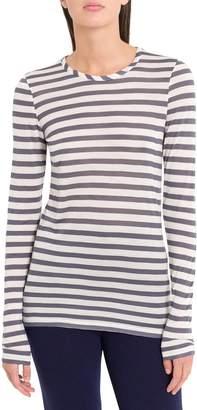 Semi-Couture Semicouture SEMICOUTURE Striped Liong Sleeve Tee