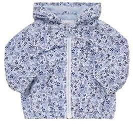 F&F Shower Resistant Ditsy Floral Jacket 0-3 months