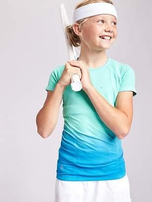 Athleta Girl Dip Dye Tracker Tee