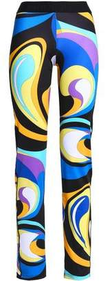 Emilio Pucci Printed Stretch Track Pants