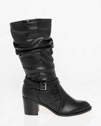 Le Château Ruched Knee-High Boot