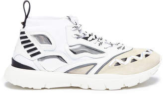Valentino 'Heroes' patchwork sneakers