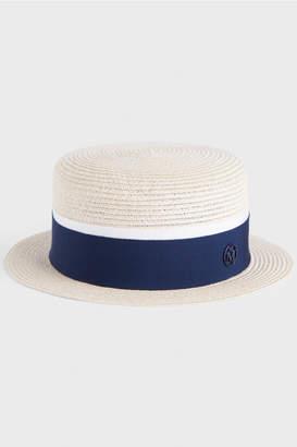 Maison Michel Auguste Timeless Straw Hat
