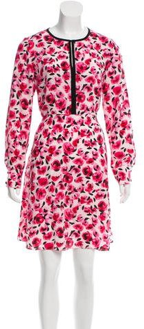 Kate Spade Kate Spade New York Silk Floral Dress