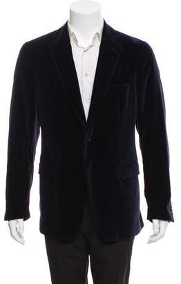 Etro Velvet Paisley-Lined Evening Jacket