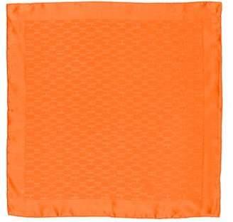 Hermes Façonnée Silk Pocket Square w/ Tags