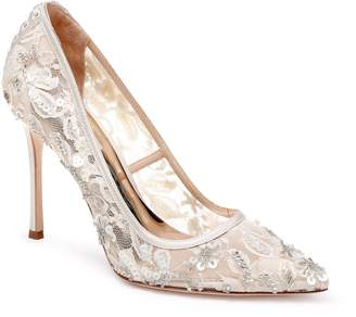 Badgley Mischka Veronica Lace Pump