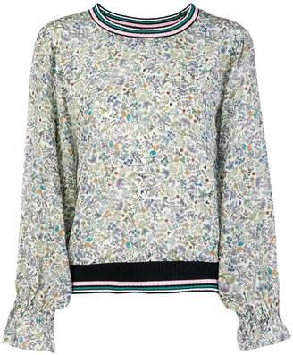 Essentiel Antwerp floral long-sleeve blouse