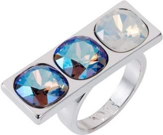 Nadia Minkoff Three Stone Ring Blue Shimmer