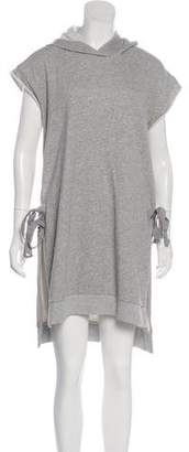 Maison Margiela Hooded Sweater Dress