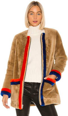 Kule The Wheeler Fur Coat