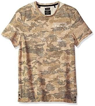 Buffalo David Bitton Men's Kahat Short Sleeve Crew Neck Camo T-Shirt