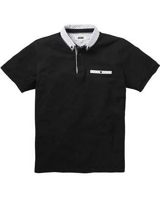 Jacamo Trim Detail Black Polo L