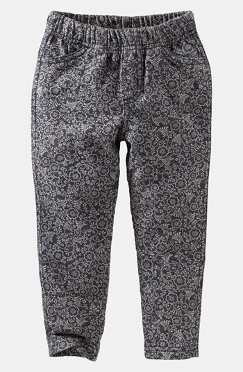 Tea Collection Print Skinny Pants (Toddler Girls)