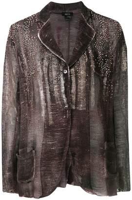 Avant Toi oversized gemstone blazer