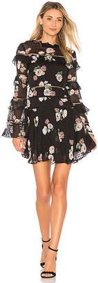 Nicholas Rose Ruffle Dress