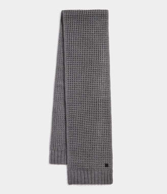 AllSaints Thermal Stitch Scarf
