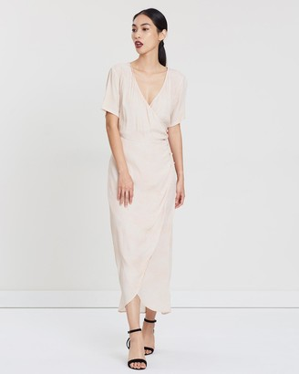 The Hunted Wrap Maxi Dress