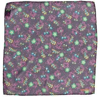 Missoni Floral Print Silk Pocket Square