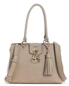 GUESS Garcelyn Textured Satchel