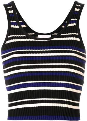 3.1 Phillip Lim striped rib-knit top