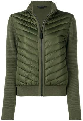 Canada Goose knitted padded jacket