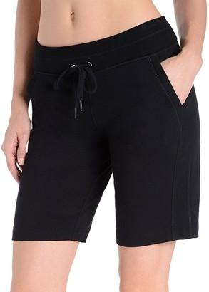 Danskin Women's High-Waisted Bermuda Shorts