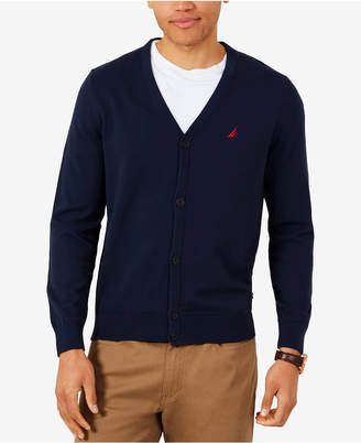 Nautica Men V-Neck Cardigan