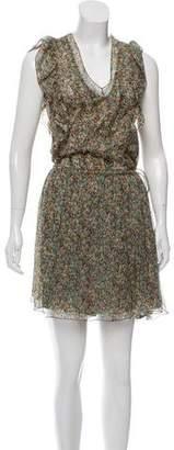 Zadig & Voltaire Silk Printed Dress