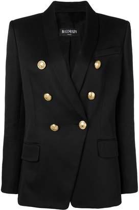 Balmain navy-inspired blazer