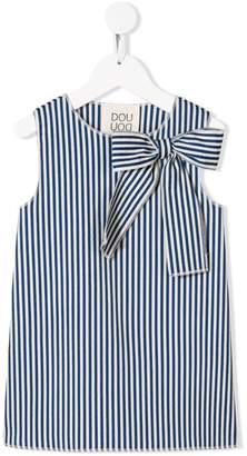 Douuod Kids striped bow tank top