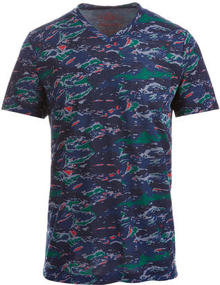 American Rag Men's Colorful Camo T-Shirt, Created for Macy's
