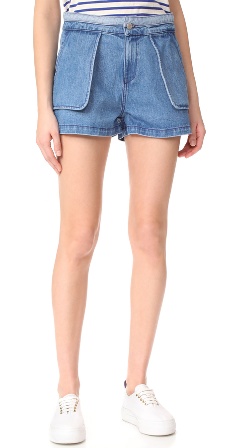 Opening Ceremony Opening Ceremony Denim Inside Out Shorts