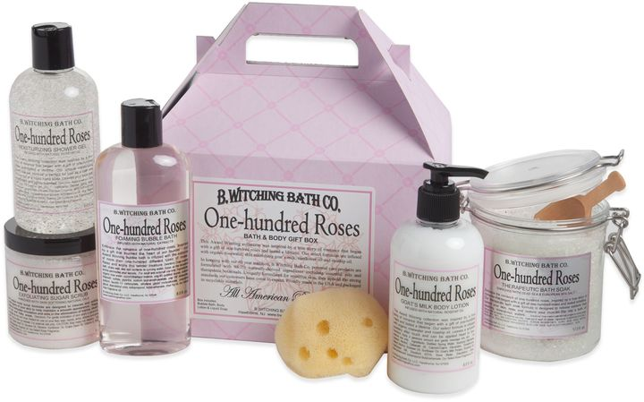 Bed Bath & BeyondB. Witching Bath Co. One Hundred Roses Bath & Body Gift Set