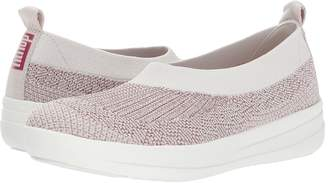 FitFlop Uberknit Slip-On Ballerina Women's Lace up casual Shoes