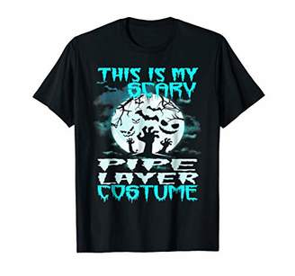 My Scary Pipe Layer Costume Halloween Cool T-shirt